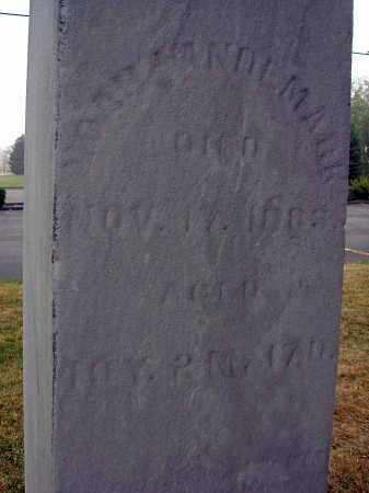 VANDEMARK, NOAH - Fairfield County, Ohio | NOAH VANDEMARK - Ohio Gravestone Photos
