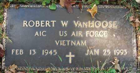 VANHOOSE, ROBERT W. - Fairfield County, Ohio | ROBERT W. VANHOOSE - Ohio Gravestone Photos