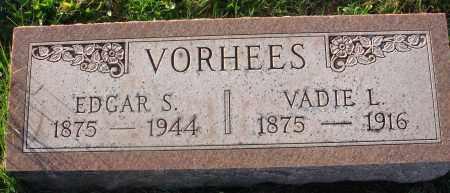 VORHEES, VADIE L. - Fairfield County, Ohio | VADIE L. VORHEES - Ohio Gravestone Photos