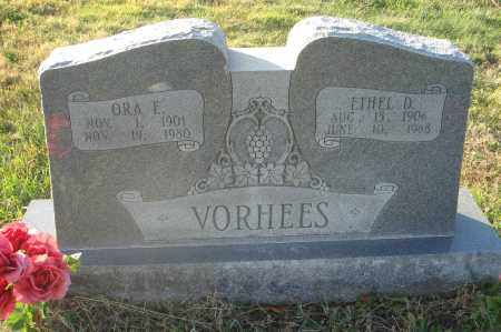VORHEES, ETHEL D. - Fairfield County, Ohio   ETHEL D. VORHEES - Ohio Gravestone Photos