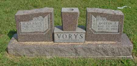 VORYS, M. GLADYS - Fairfield County, Ohio | M. GLADYS VORYS - Ohio Gravestone Photos