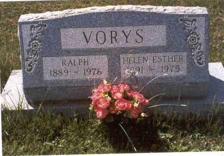 VORYS, RALPH - Fairfield County, Ohio | RALPH VORYS - Ohio Gravestone Photos