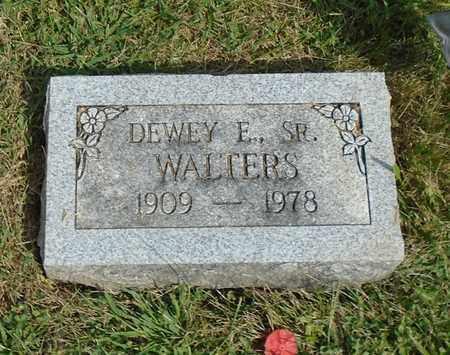 WALTERS, DEWEY E., SR - Fairfield County, Ohio | DEWEY E., SR WALTERS - Ohio Gravestone Photos