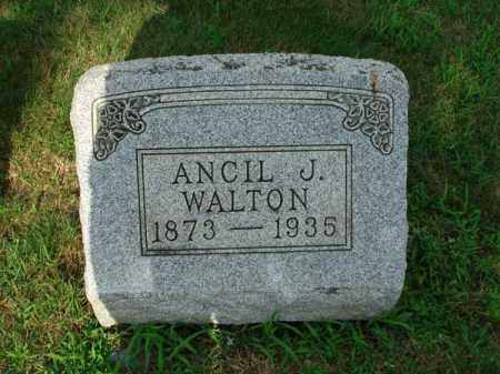 WALTON, ANCIL J. - Fairfield County, Ohio | ANCIL J. WALTON - Ohio Gravestone Photos