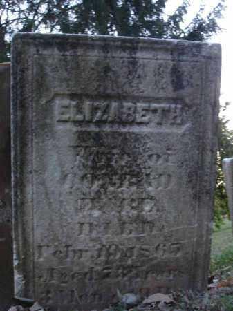 WARE, ELIZABETH - Fairfield County, Ohio   ELIZABETH WARE - Ohio Gravestone Photos