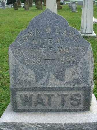 WATTS, EDNA M. - Fairfield County, Ohio   EDNA M. WATTS - Ohio Gravestone Photos