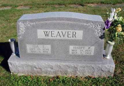 WEAVER, IDA E. - Fairfield County, Ohio   IDA E. WEAVER - Ohio Gravestone Photos
