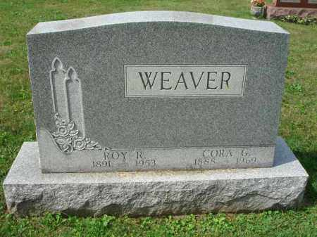 WEAVER, ROY R. - Fairfield County, Ohio | ROY R. WEAVER - Ohio Gravestone Photos