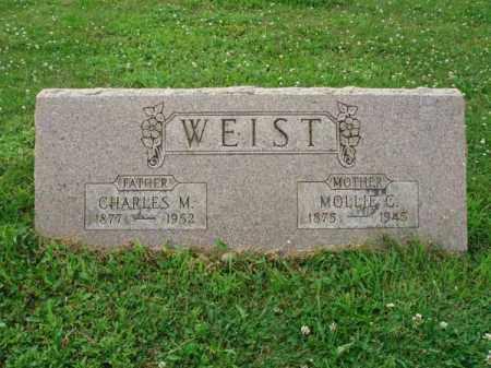 WEIST, MOLLIE C. - Fairfield County, Ohio | MOLLIE C. WEIST - Ohio Gravestone Photos