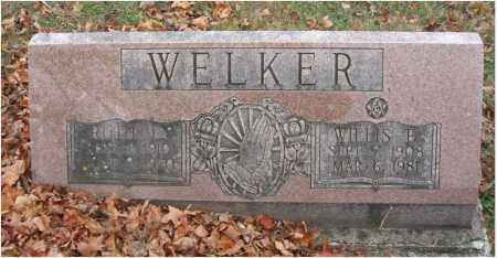 WELKER, RUTH L. - Fairfield County, Ohio | RUTH L. WELKER - Ohio Gravestone Photos