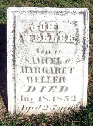 WELLER, JOHN - Fairfield County, Ohio | JOHN WELLER - Ohio Gravestone Photos