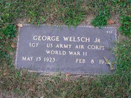 WELSCH, GEORGE - Fairfield County, Ohio   GEORGE WELSCH - Ohio Gravestone Photos