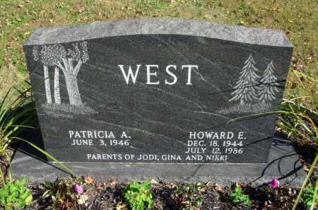 WEST, HOWARD E. - Fairfield County, Ohio | HOWARD E. WEST - Ohio Gravestone Photos