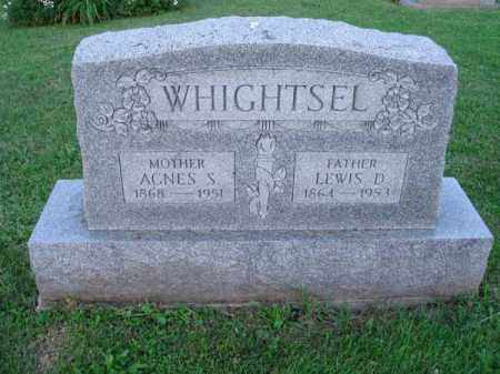 WHIGHTSEL, LEWIS D. - Fairfield County, Ohio | LEWIS D. WHIGHTSEL - Ohio Gravestone Photos