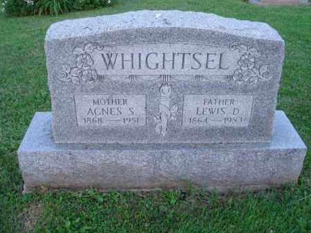 WHIGHTSEL, LEWIS D. - Fairfield County, Ohio | LEWIS D. WHIGHTSEL - Ohio Gravestone Photos