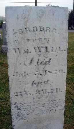 WILL, BARBRA - Fairfield County, Ohio | BARBRA WILL - Ohio Gravestone Photos