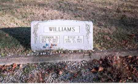 WILLIAMS, HERMAN H. - Fairfield County, Ohio | HERMAN H. WILLIAMS - Ohio Gravestone Photos