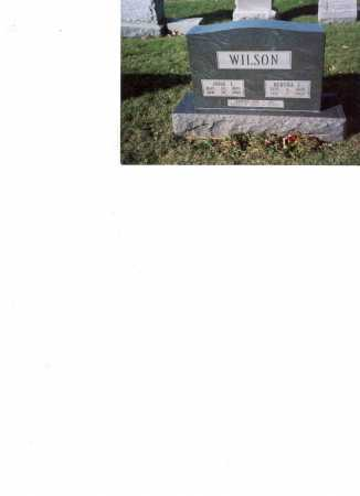 WILSON, JOHN E - Fairfield County, Ohio | JOHN E WILSON - Ohio Gravestone Photos