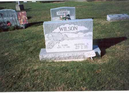 WILSON, L. EARL - Fairfield County, Ohio | L. EARL WILSON - Ohio Gravestone Photos