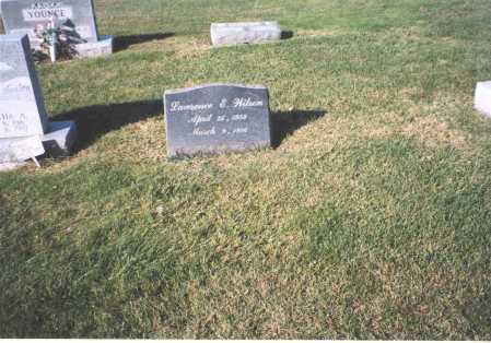 WILSON, LAWRENCE E. - Fairfield County, Ohio   LAWRENCE E. WILSON - Ohio Gravestone Photos