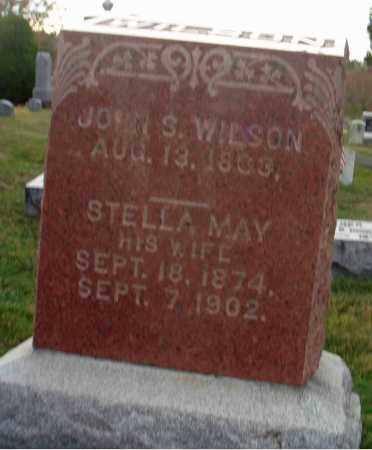WILSON, STELLA MAY - Fairfield County, Ohio | STELLA MAY WILSON - Ohio Gravestone Photos
