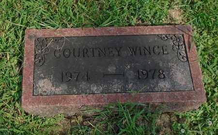 WINCE, COURTNEY - Fairfield County, Ohio   COURTNEY WINCE - Ohio Gravestone Photos