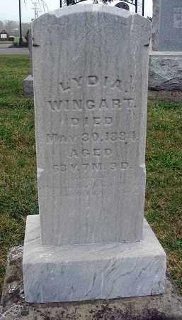 WINGART, LYDIA - Fairfield County, Ohio   LYDIA WINGART - Ohio Gravestone Photos