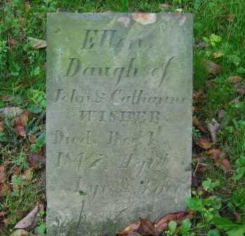 WISHER, CATHARINE - Fairfield County, Ohio | CATHARINE WISHER - Ohio Gravestone Photos