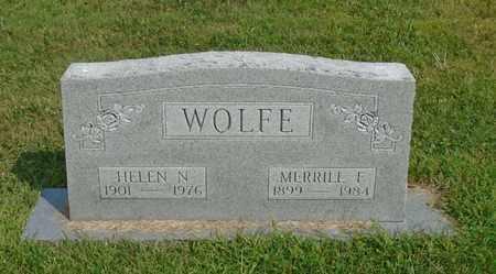 WOLFE, MERRILL F. - Fairfield County, Ohio | MERRILL F. WOLFE - Ohio Gravestone Photos