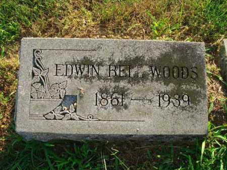 WOODS, EDWIN BELL - Fairfield County, Ohio | EDWIN BELL WOODS - Ohio Gravestone Photos