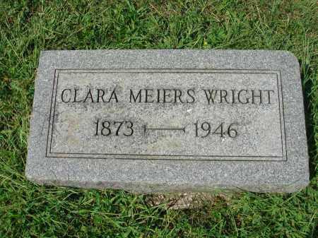 MEIERS WRIGHT, CLARA - Fairfield County, Ohio | CLARA MEIERS WRIGHT - Ohio Gravestone Photos