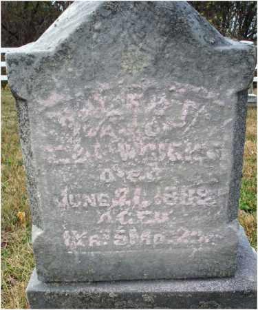 WRIGHT, CALEB? - Fairfield County, Ohio | CALEB? WRIGHT - Ohio Gravestone Photos