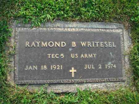 WRITESEL, RAYMOND B. - Fairfield County, Ohio   RAYMOND B. WRITESEL - Ohio Gravestone Photos