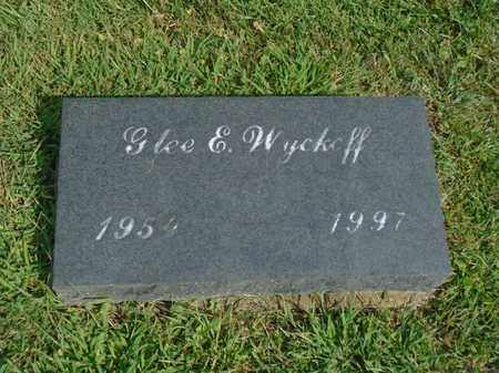 WYCKEFF, GLEE E. - Fairfield County, Ohio | GLEE E. WYCKEFF - Ohio Gravestone Photos