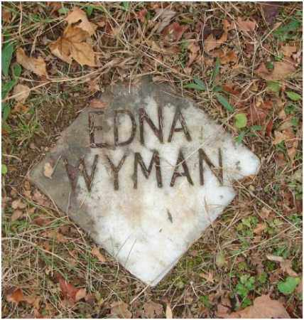 WYMAN, EDNA - Fairfield County, Ohio | EDNA WYMAN - Ohio Gravestone Photos