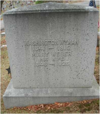 WYMAN, MARY - Fairfield County, Ohio | MARY WYMAN - Ohio Gravestone Photos