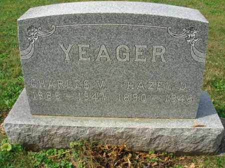 YEAGER, CHARLES V. - Fairfield County, Ohio | CHARLES V. YEAGER - Ohio Gravestone Photos