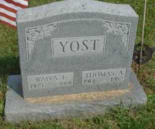 YOST, THOMAS A. - Fairfield County, Ohio | THOMAS A. YOST - Ohio Gravestone Photos
