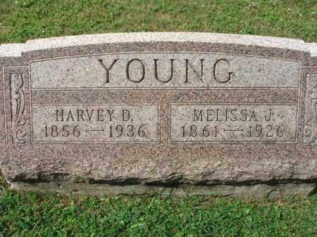 YOUNG, MELISSA J. - Fairfield County, Ohio | MELISSA J. YOUNG - Ohio Gravestone Photos