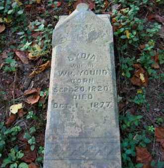YOUNG, LYDIA - Fairfield County, Ohio | LYDIA YOUNG - Ohio Gravestone Photos
