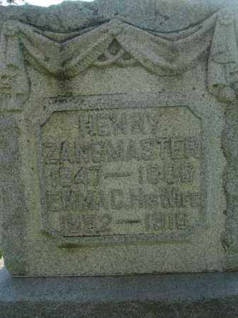 ZANGMASTER, HENRY - Fairfield County, Ohio | HENRY ZANGMASTER - Ohio Gravestone Photos