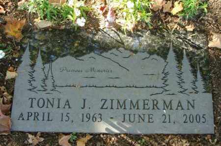 ZIMMERMAN, TONIA J. - Fairfield County, Ohio | TONIA J. ZIMMERMAN - Ohio Gravestone Photos