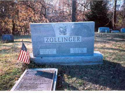 ZOLLINGER, IDA LOUISE - Fairfield County, Ohio | IDA LOUISE ZOLLINGER - Ohio Gravestone Photos