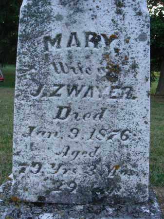 ZWAYER, MARY - Fairfield County, Ohio | MARY ZWAYER - Ohio Gravestone Photos