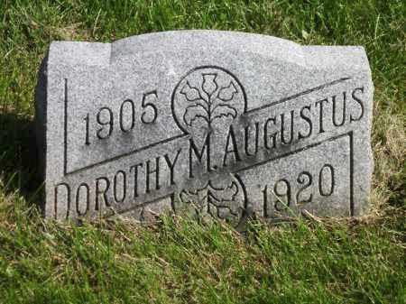 AUGUSTUS, DOROTHY M. - Fayette County, Ohio   DOROTHY M. AUGUSTUS - Ohio Gravestone Photos
