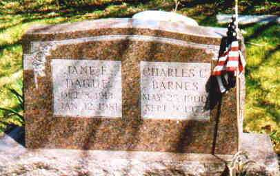 DAGUE BARNES, JANE F - Fayette County, Ohio | JANE F DAGUE BARNES - Ohio Gravestone Photos