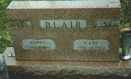 BLAIR, ESKEL - Fayette County, Ohio | ESKEL BLAIR - Ohio Gravestone Photos