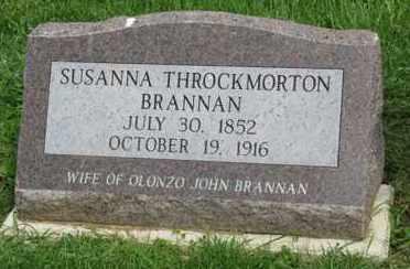 BRANNAN, SUSANNA - Fayette County, Ohio | SUSANNA BRANNAN - Ohio Gravestone Photos