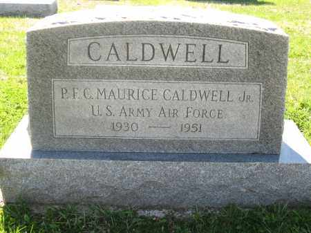 CALDWELL, MAURICE JR. - Fayette County, Ohio | MAURICE JR. CALDWELL - Ohio Gravestone Photos