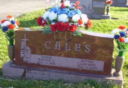 SITES CALES, CLARABEL - Fayette County, Ohio | CLARABEL SITES CALES - Ohio Gravestone Photos